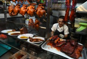 In demand: Singapore's Michelin-starred street food