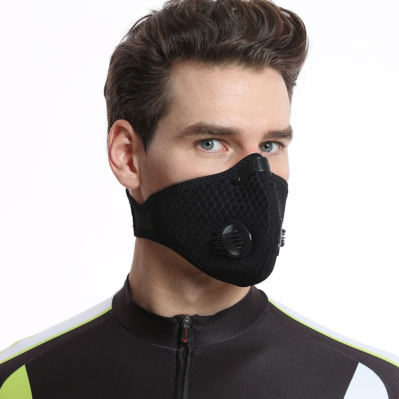 2018 XINTOWN Cycling Face Mask with Carbon Filter Dustproof and Antipollution Masks for Outdoor