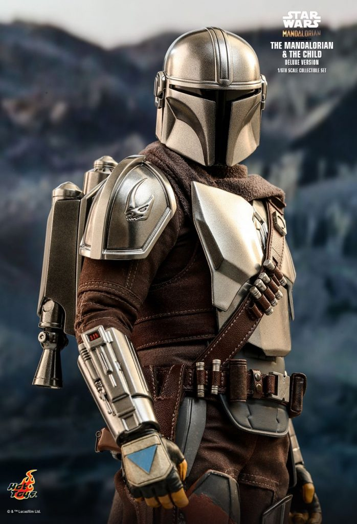 NEW PRODUCT: HOT TOYS: THE MANDALORIAN THE MANDALORIAN AND THE CHILD 1\/6TH SCALE COLLECTIBLE SET