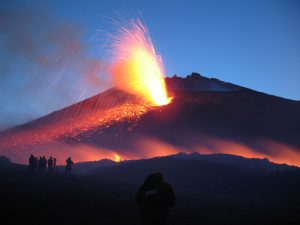 Visiting Mount Etna and its surroundings