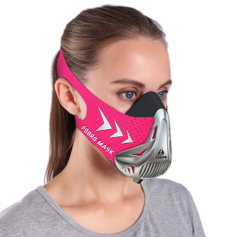 FDBRO Mask for Running Fitness Workout Resistance Elevation Cardio Endurance Sports Mask For