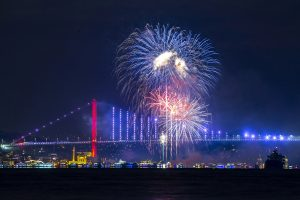 Pictures From 2020 New Year's Eve Celebrations Across the World – NBC New York