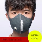 Rockbros Men& Women Bike Cycling Winter Half Face Mask With Filter Windproof Breathable Sports