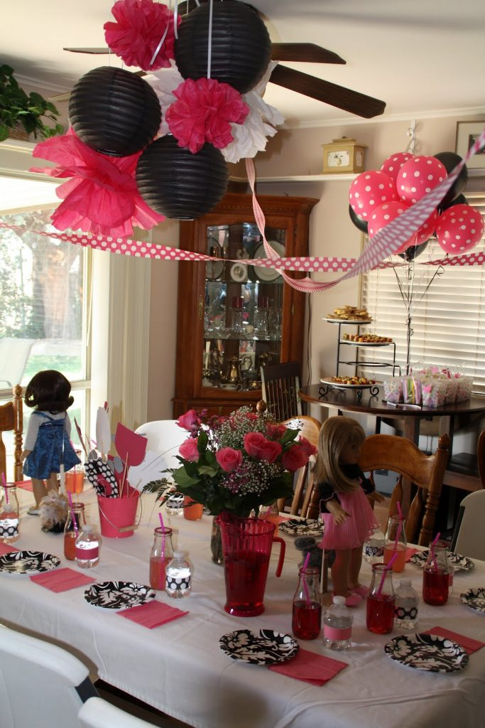 Cynde's Place: American Girl Spa Birthday Party
