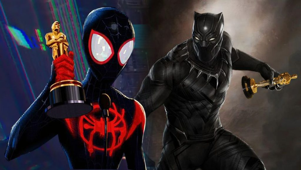 Comic Book Heroes Spider-Man and Black Panther Win Big At Oscars 2019  Geek Culture