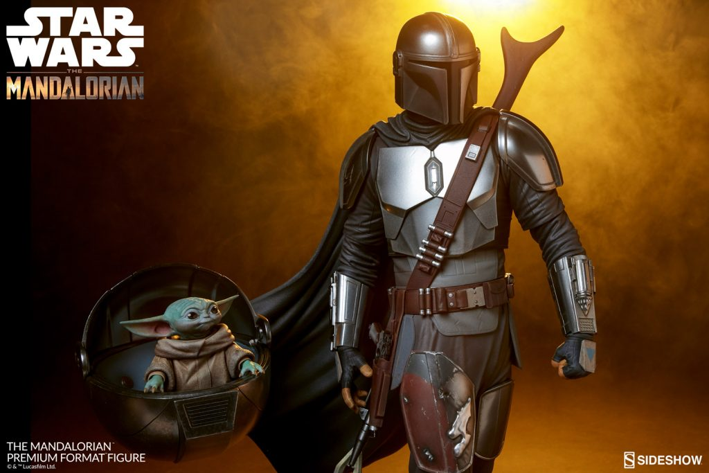 The Mandalorian - Din Djarin and The Child Premium Format Figure by Sideshow - The Toyark - News