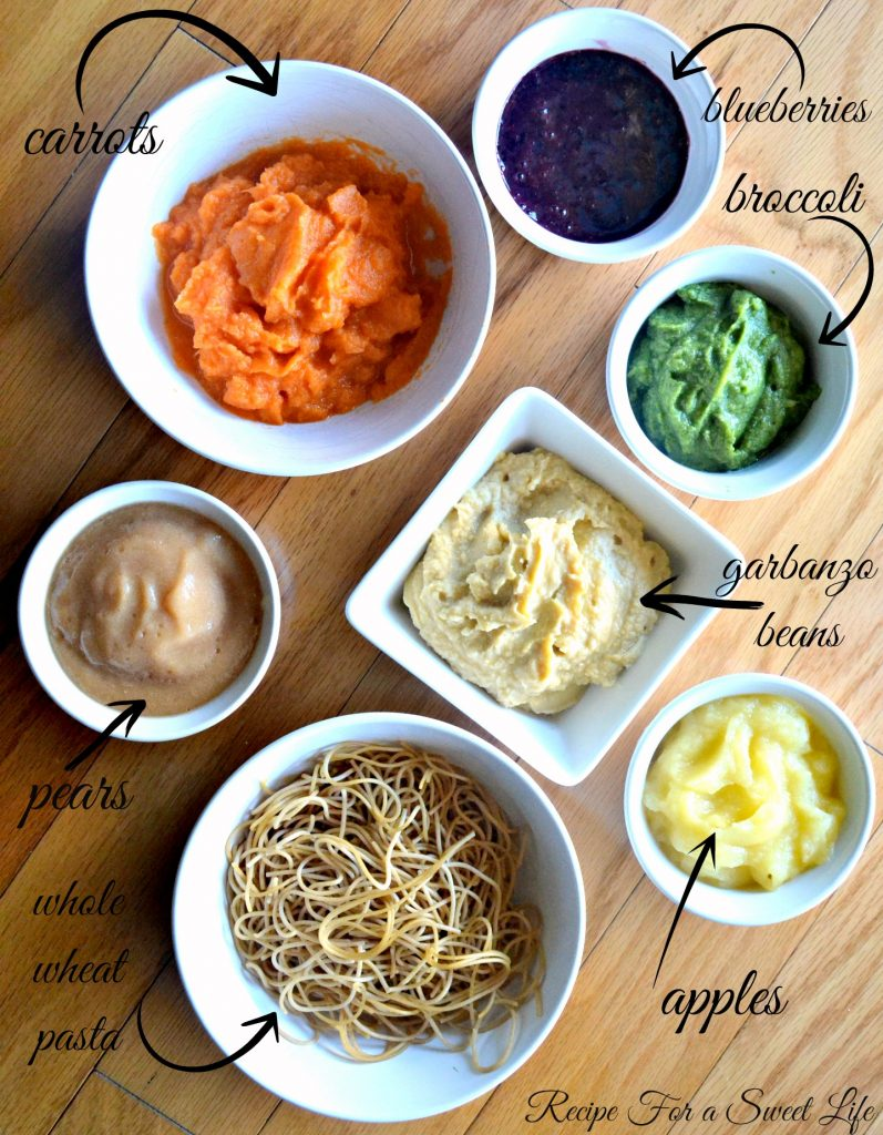 Homemade Baby Food - Recipe for a Sweet Life