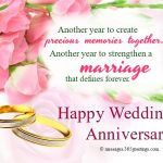 Wedding Anniversary Wishes and messages - 365greetings.com