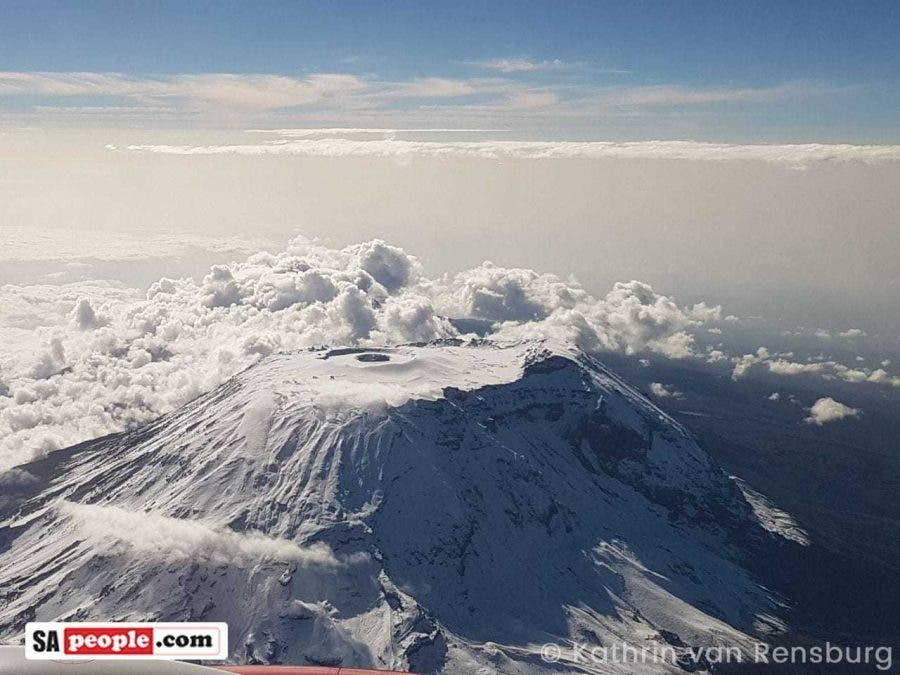 South African Expat Captures Awesome Photos of Top of Mount Kilimanjaro - SAPeople - Your