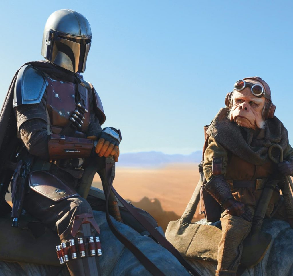 """Exclusive Interview with Misty Rosas, Performance Artist for Kuiil in """"The Mandalorian"""" - Boba"""