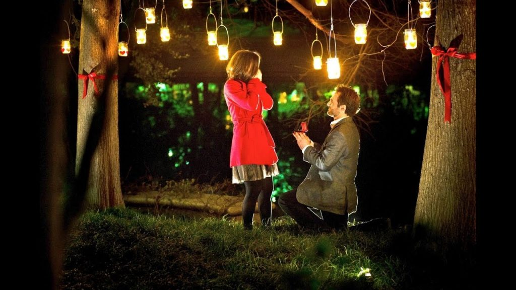 Romantic Marriage Proposal in Dallas by The YES Girls Events - YouTube