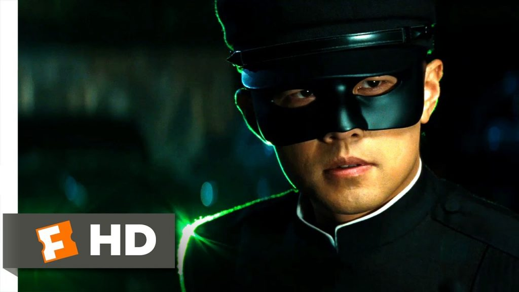 The Green Hornet (2011) - The Good Half of the Team Scene (7\/10)  Movieclips - YouTube