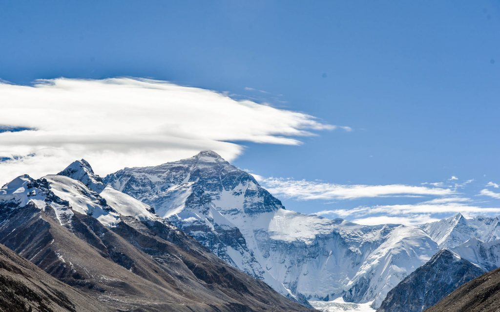 How Tall Is Mount Everest in 2017? Why it Might Be Sinking  Travel + Leisure