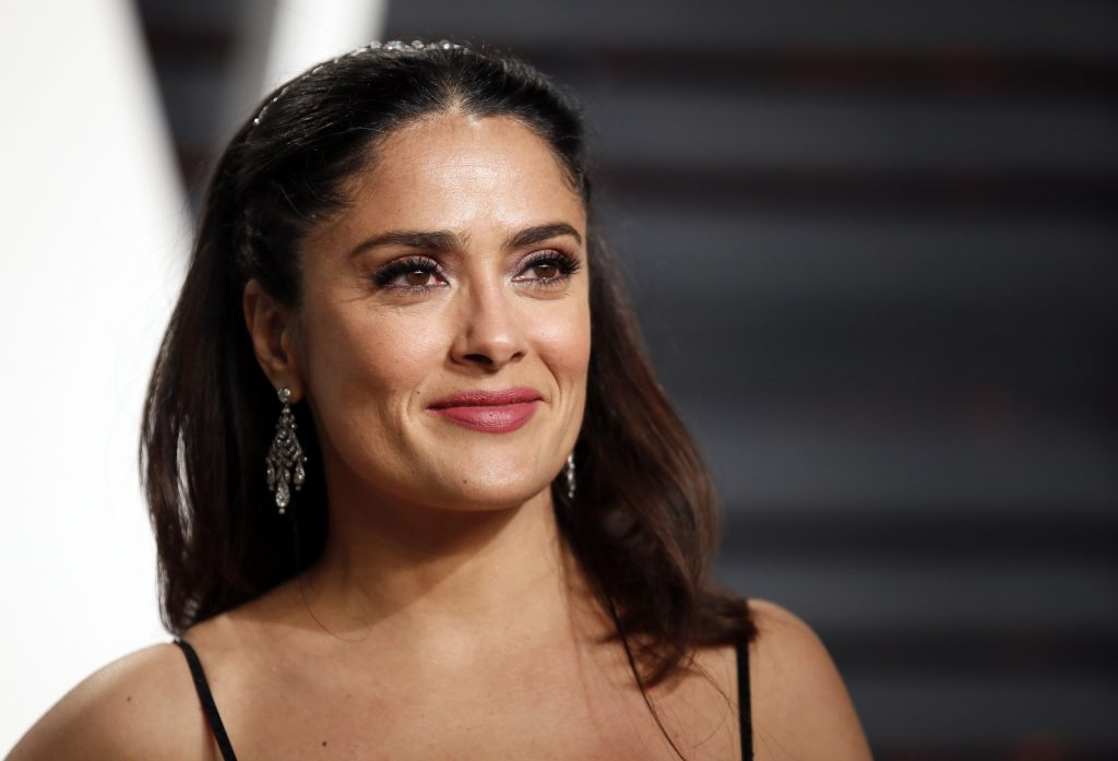 Stunning Salma Hayek flaunts curves in sexy bare-backed gown: 'Most beautiful woman in the world'