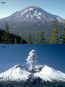 Mount St. Helens  I hope to be remembered for my atrocities!