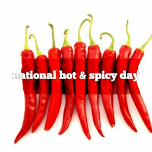 January 16 is National Hot and Spicy Food Day  Foodimentary - National Food Holidays