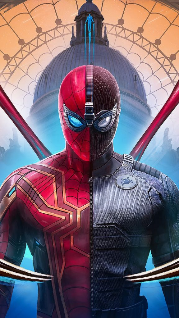 Spiderman Far From Home Suit  Mobile Wallpaper - HD Mobile Walls