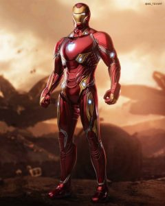 Iron Man Mark 50 final product photos have released (Photo by BG_TOYART) : hottoys