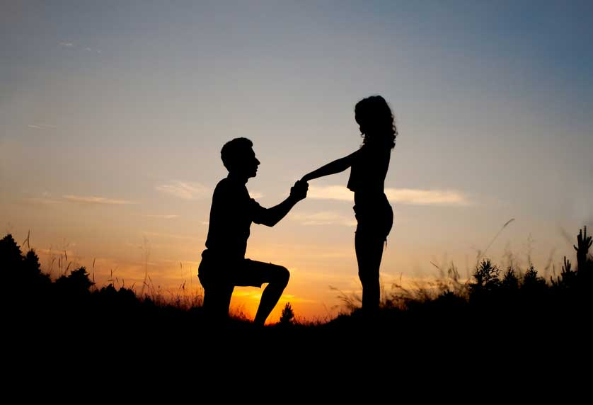 10 proposal ideas (that don't suck)  Easy Weddings