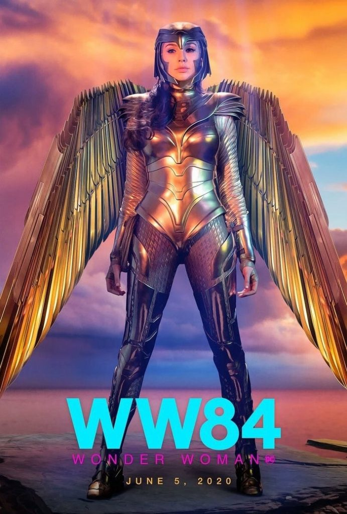 New Wonder Woman 1984 Gold Eagle Armor Posters Released