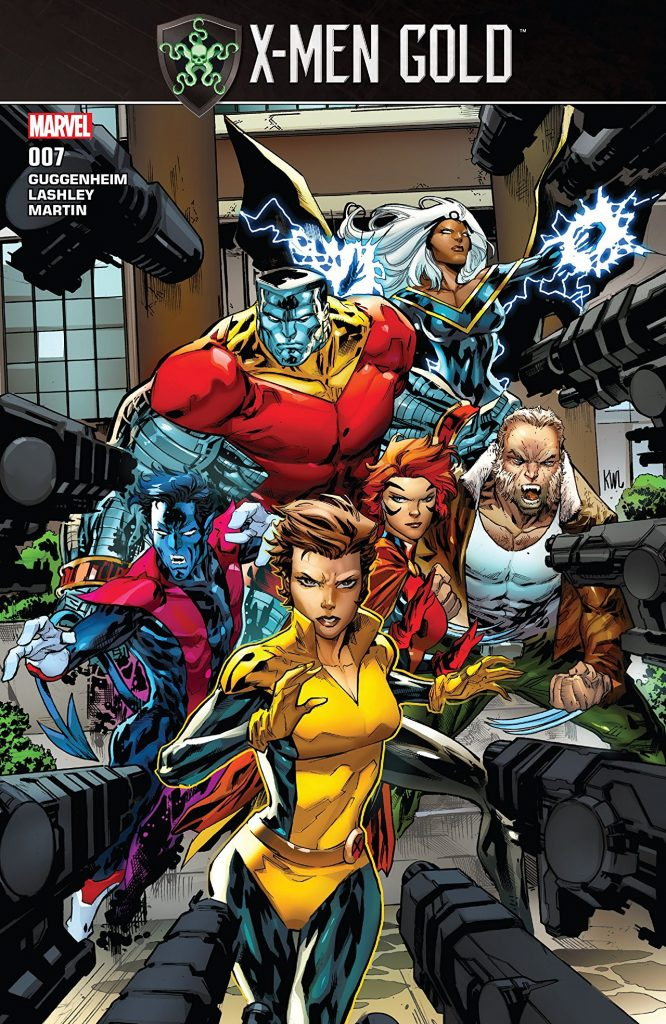 X-Men Gold #7 and X-Men Blue #7 Or How To And How Not To Do Tie-In Comics, Respectively